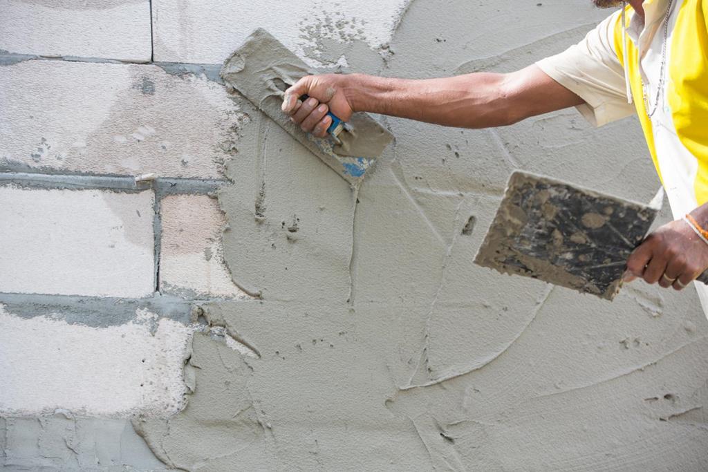 штукатурка стен цементным раствором цена за м2